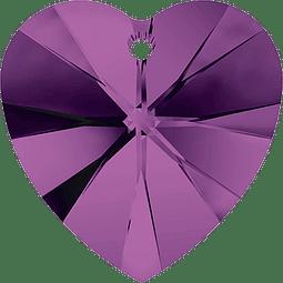 Amethyst  Xilion Heart Pendant 10,3 x 10,0 mm
