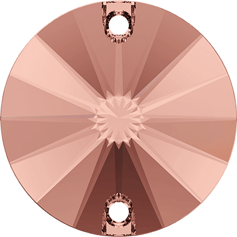 Rivoli Sew On Amethyst  12 mm