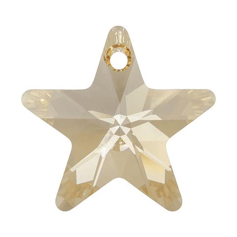 NEW STAR PENDANT Golden Shadow 14 mm