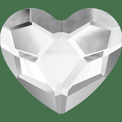 HEART FLAT BACK 001 3,6 mm