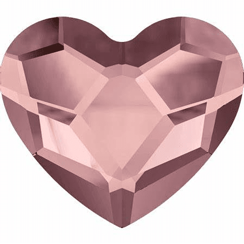 CORAZON ANTIQUE PINK  3,6 mm FLAT BACK