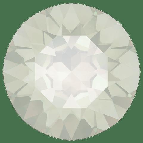 CHATON WHITE OPAL  SS 39 ( 8.16 - 8.41 milímetros )