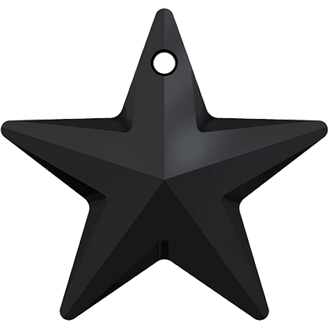 STAR PENDANT 20,0 mm JET