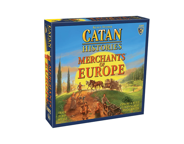Catan: Merchants of Europe
