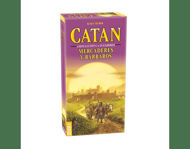 Catan: Mercaderes y Bárbaros – 5 y 6 jugadores