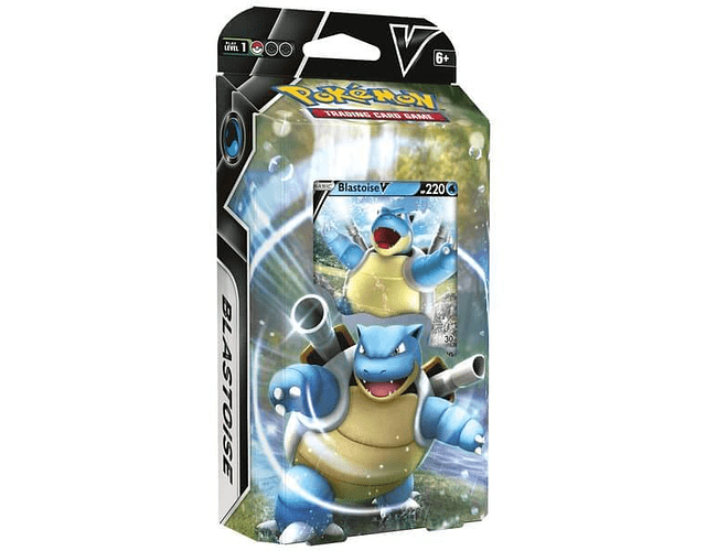 Baraja Combate Blastoise V de Pokemon TCG