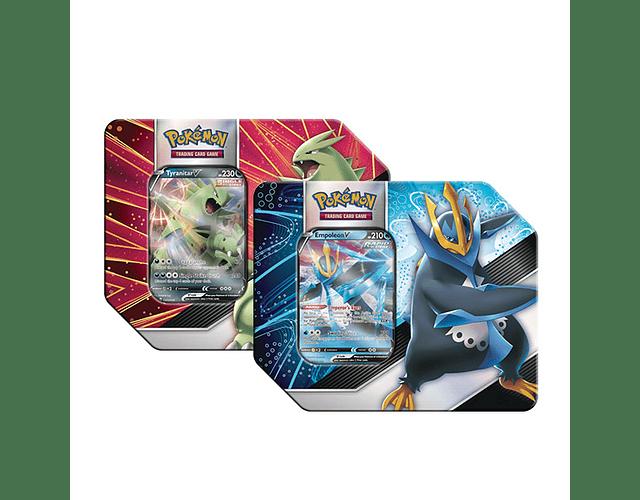 Pokémon V Strikers Tin