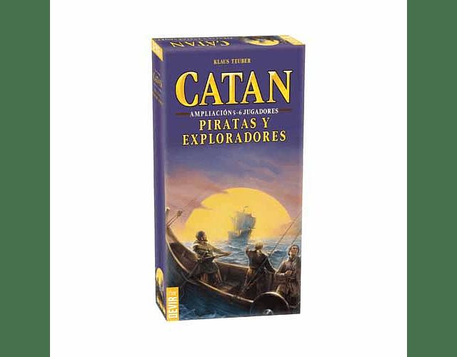 Catan: Piratas y Exploradores – Expansión 5-6 Jugadores