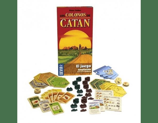 Catan: Expansión para 5 y 6 jugadores