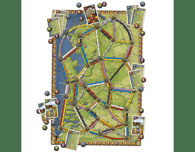 ¡Aventureros al Tren! Países Bajos