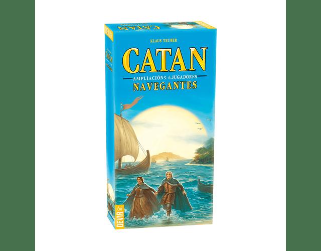 Catan: Navegantes de Catan Exp. 5-6 Jug.