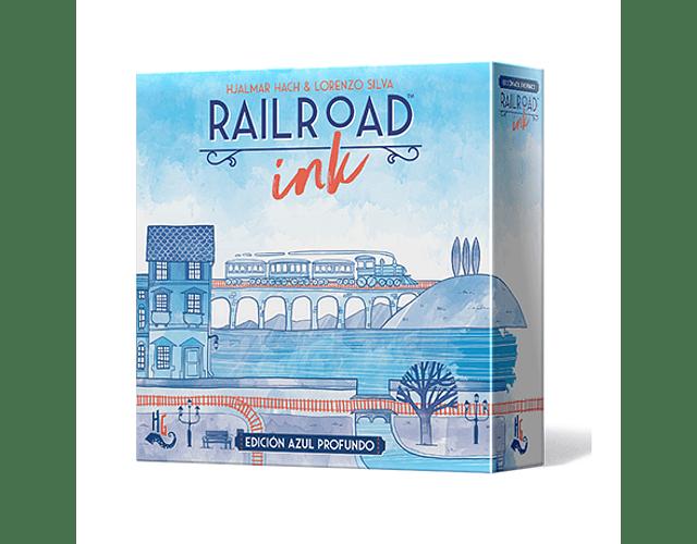 Railroad Ink: Edición azul profundo