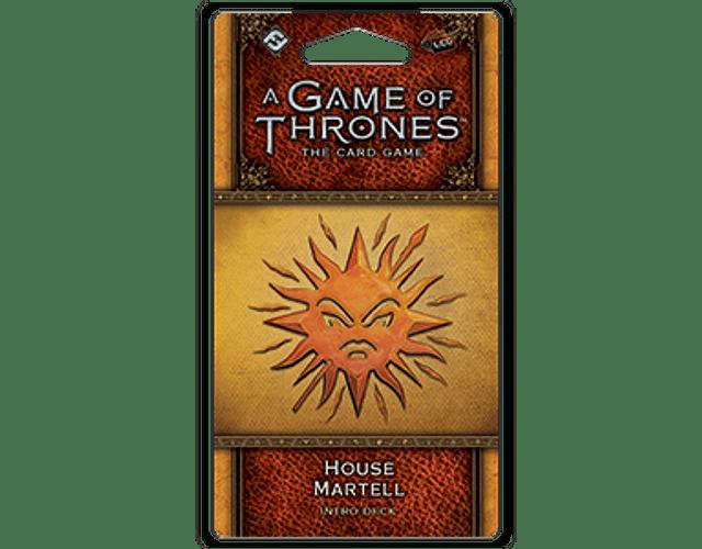 Mazo introductorio de la Casa Martell (Idioma Inglés)