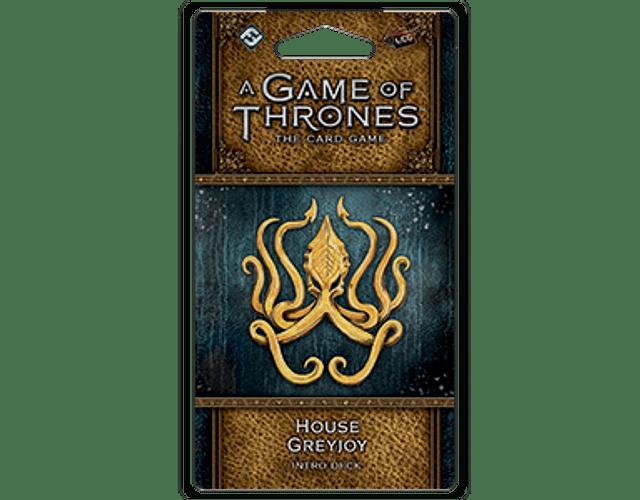 Mazo introductorio de la Casa Greyjoy (Idioma Inglés)