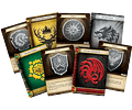 Mazo introductorio de la Casa Targaryen (Idioma Inglés)