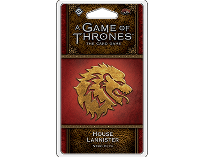 Mazo introductorio de la Casa Lannister (Idioma Inglés)