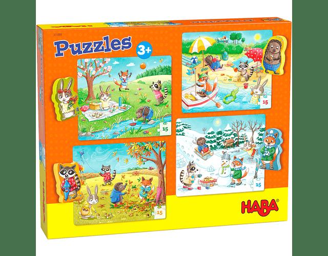Puzzle Las cuatro estaciones