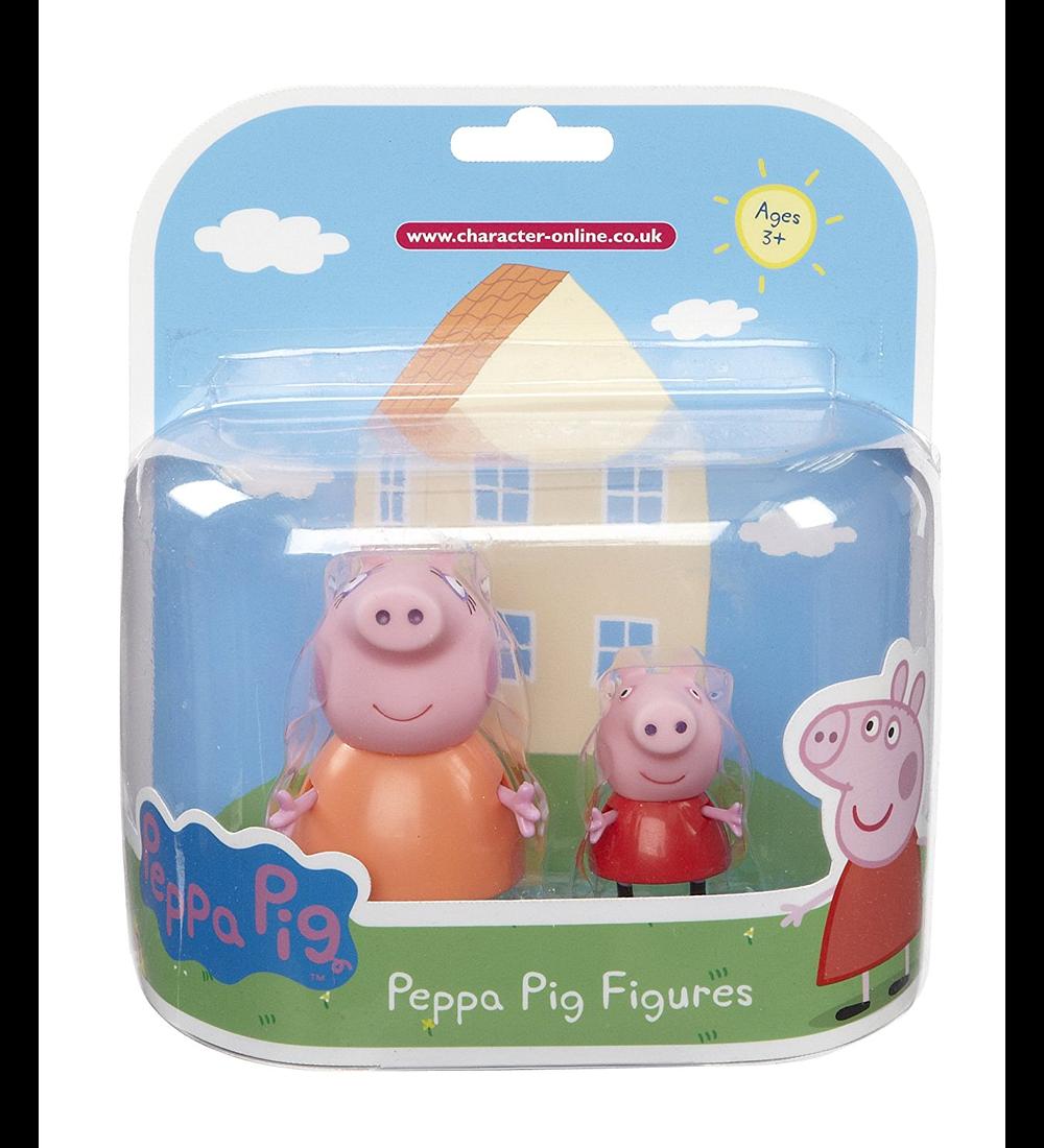 Figuras Coleccionáveis - Peppa & Mummy