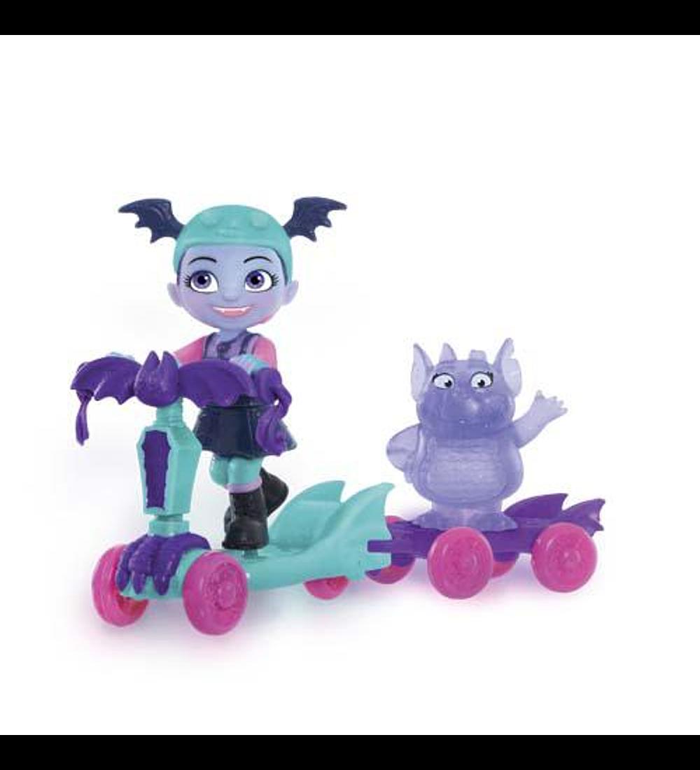 Figuras e Trotinete - Vampirina e Gregoria