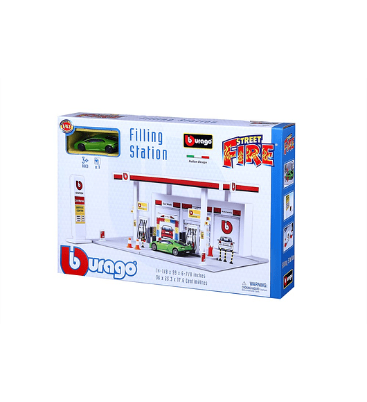 Bburago - Garagem Bomba de Gasolina