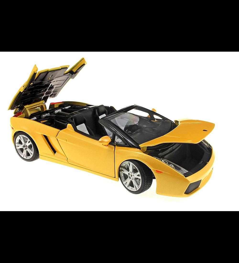 Lamborghini Gallardo Spyder - Amarelo