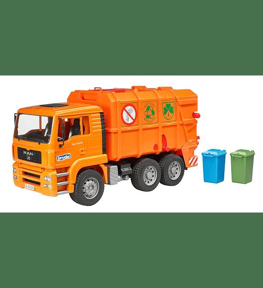 Camião do Lixo MAN TGA - Laranja
