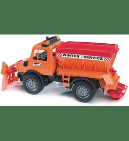 Camião Limpa-neve MB Unimog