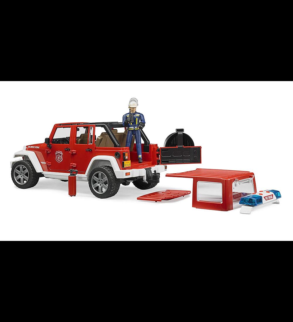 Jeep Wrangler Unlimited Rubicon dos Bombeiros