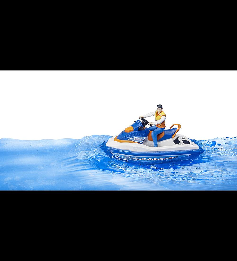 Moto de Água com Figura