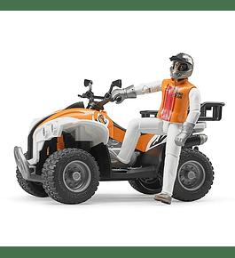 Moto Quatro com Condutor