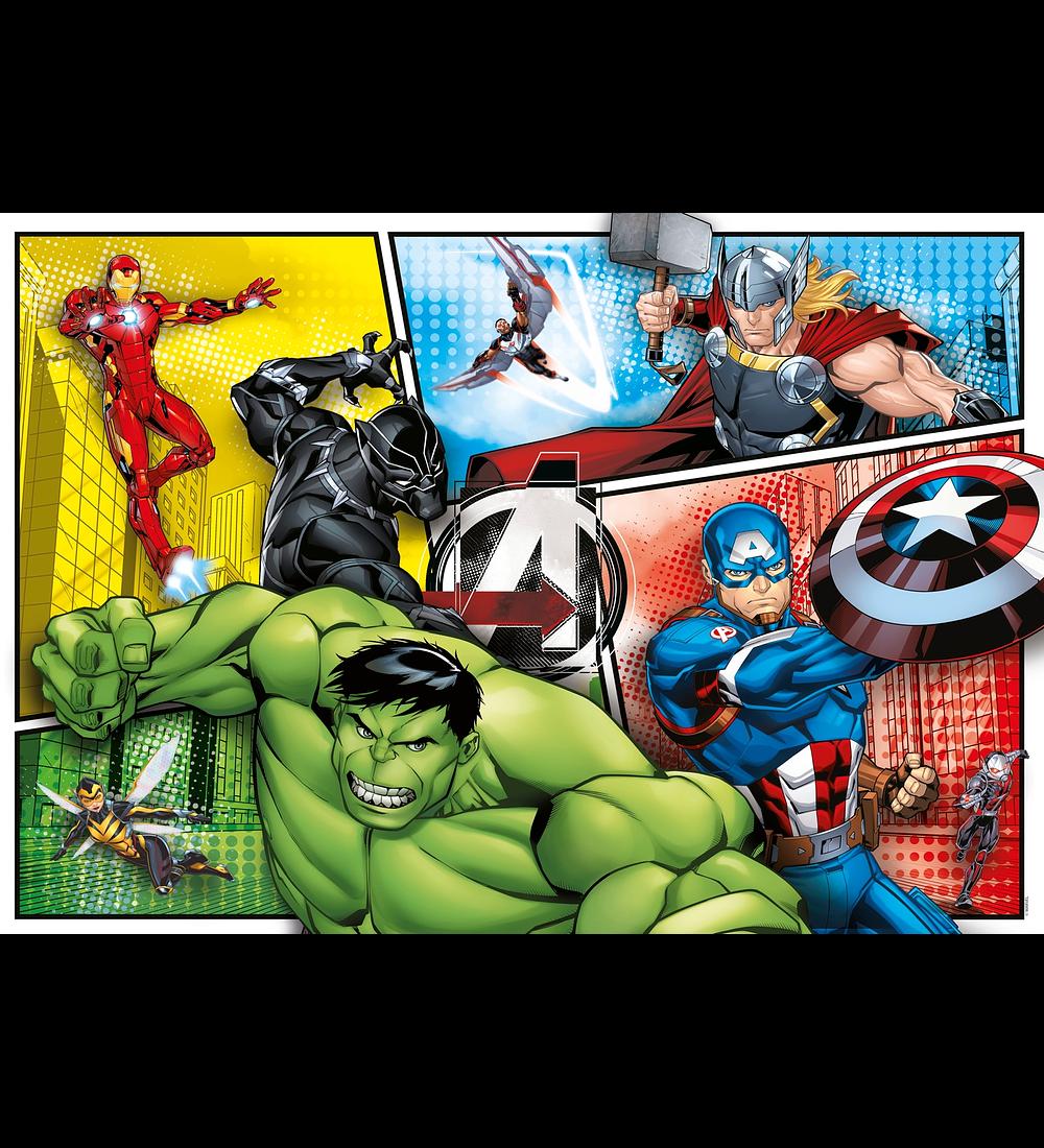 Puzzle 104 pçs - Avengers