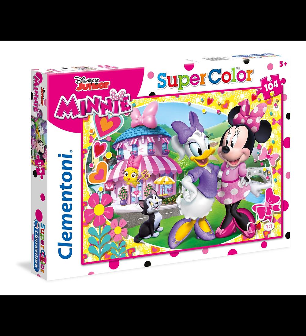 Puzzle 104 pçs - Minnie Happy Helper