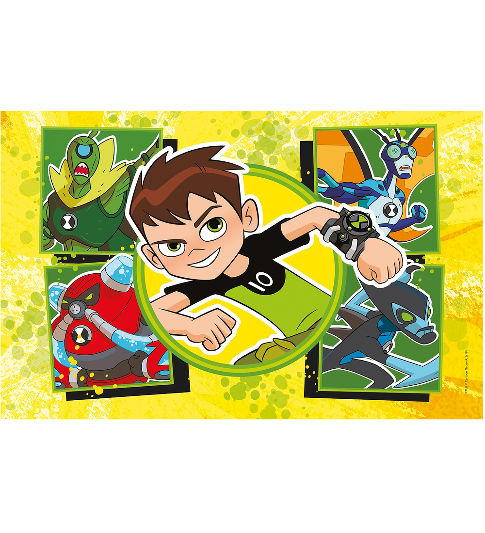 Puzzle 2x60 pçs - Ben 10