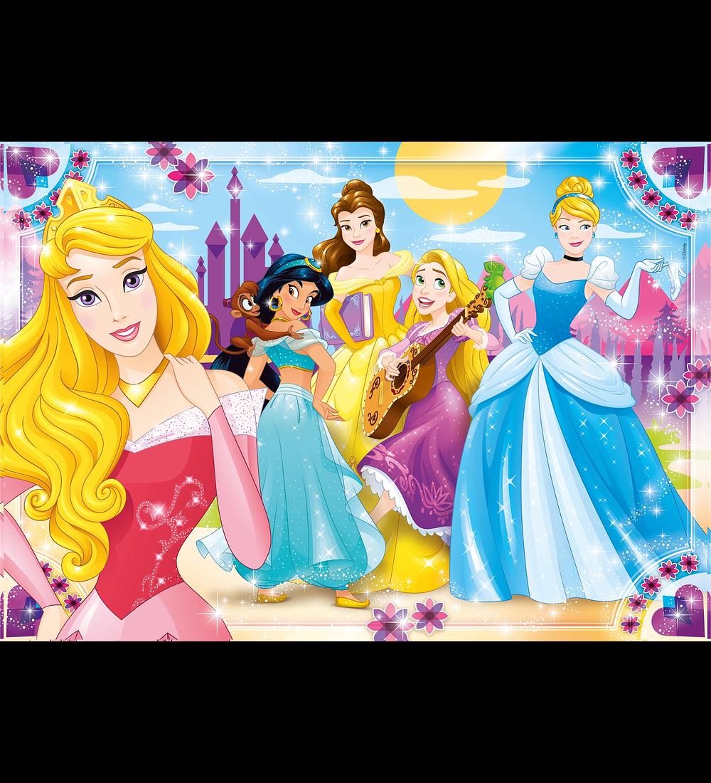Puzzle 30 pçs - Princesas