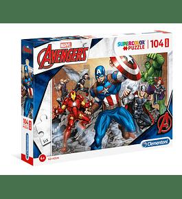 Puzzle Maxi 104 pçs - Avengers