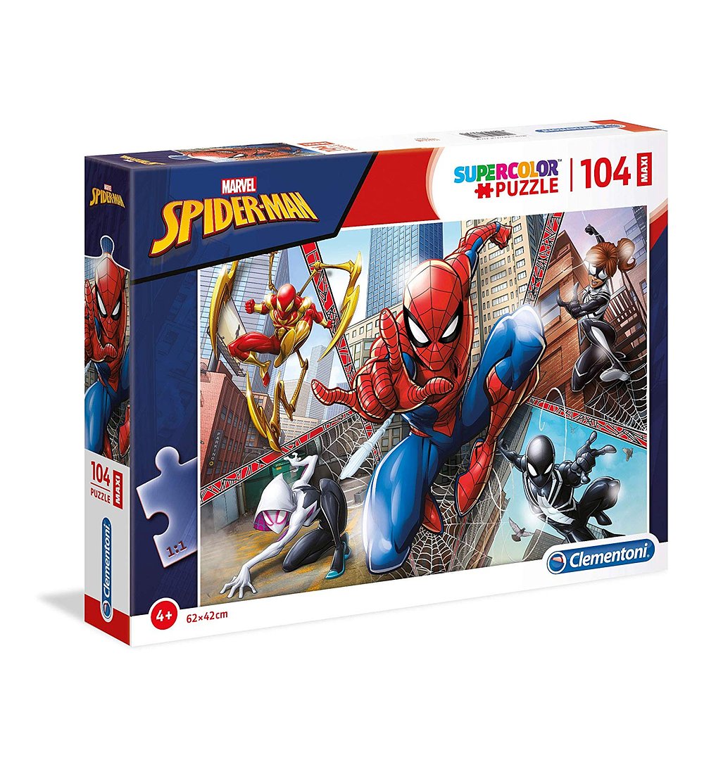 Puzzle Maxi 104 pçs - Spider-Man