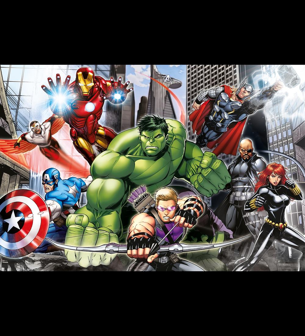 Puzzle Maxi 104 pçs - The Avengers