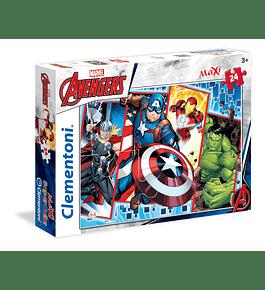 Puzzle Maxi 24 pçs - Avengers