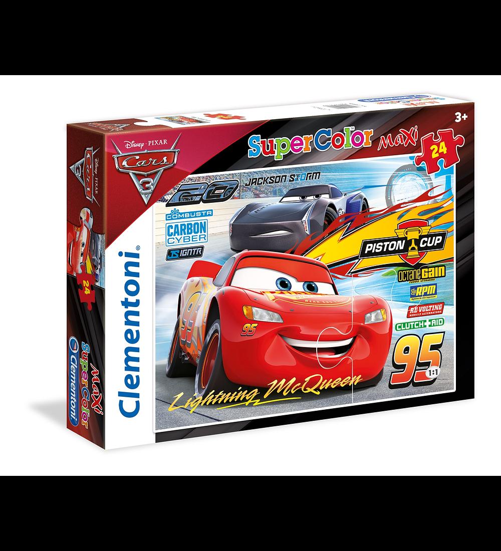 Puzzle Maxi 24 pçs - Cars