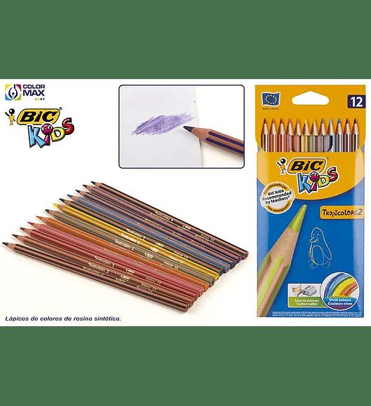 BIC - 12 lápis de Cor
