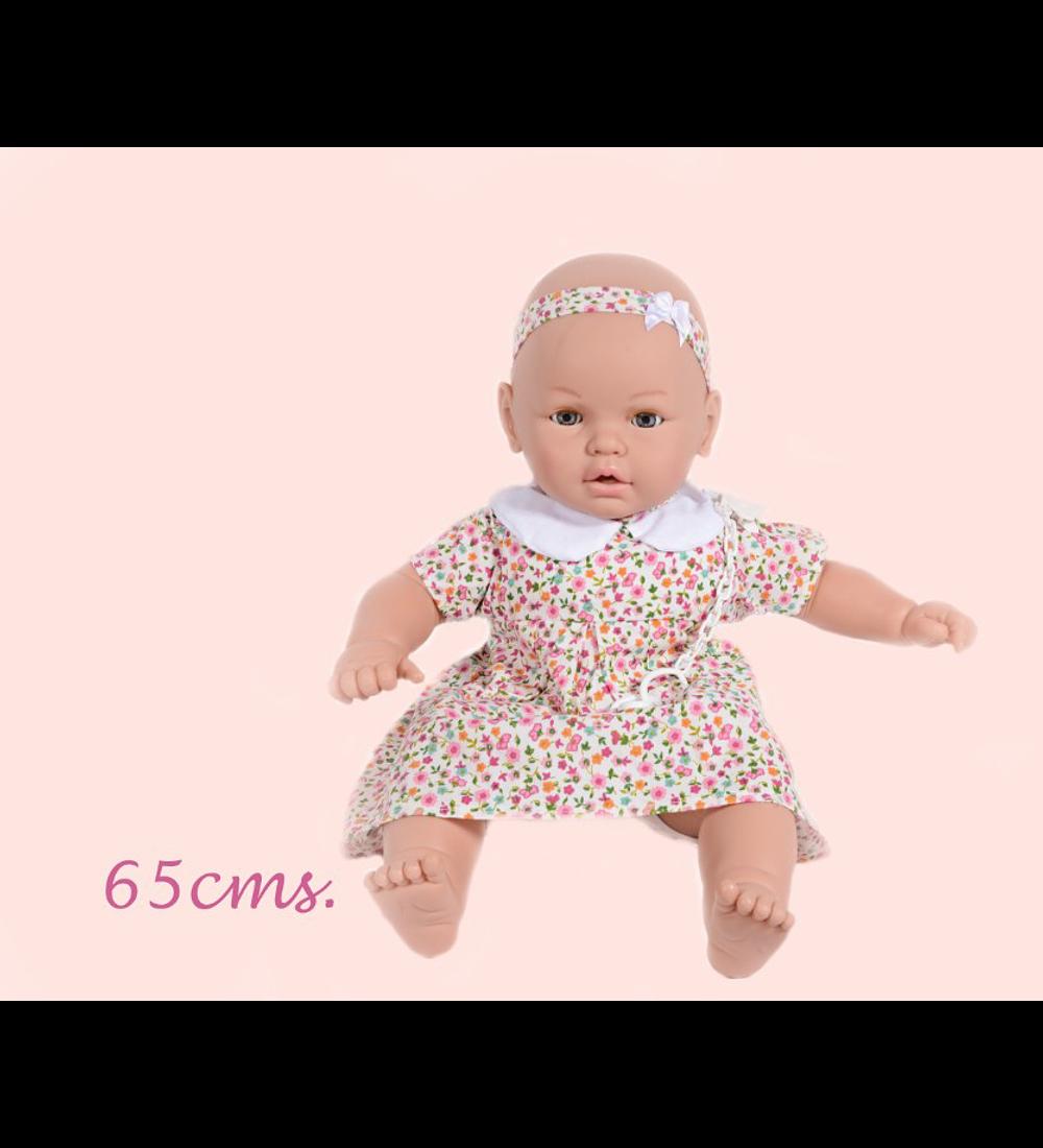 Boneca Risitas 65 cm - Branca