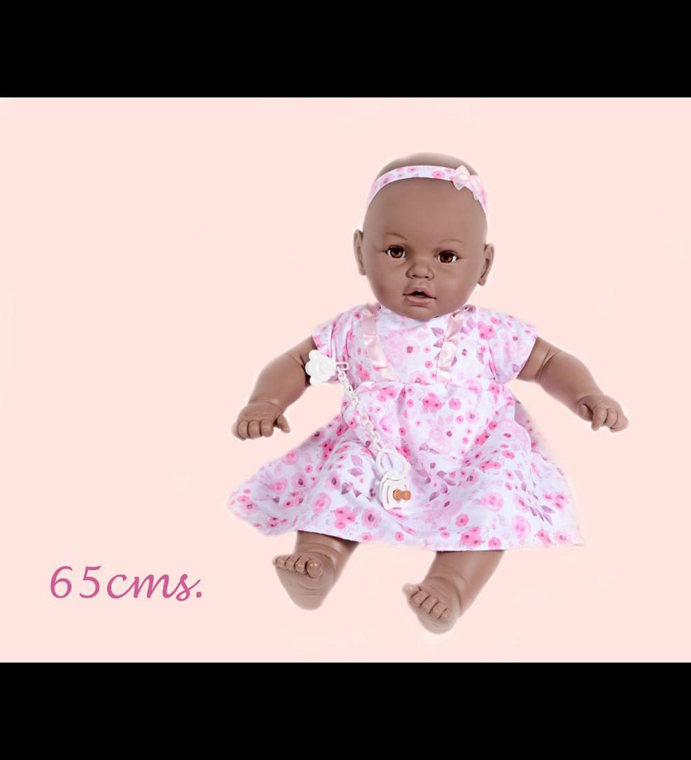 Boneca Risitas 65 cm - Negra