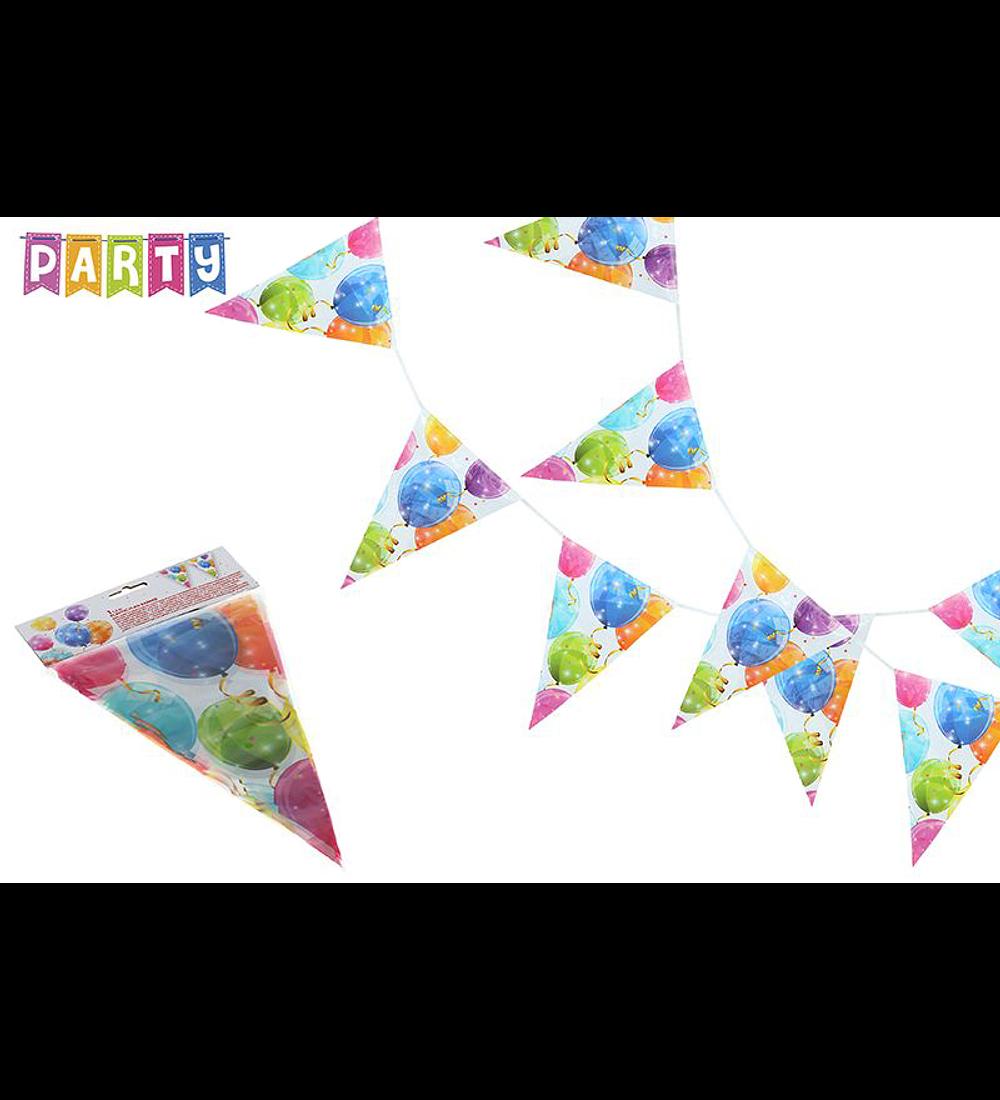 Conjunto 9 Bandeirolas - Festas