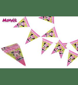 Conjunto 9 Bandeirolas - Minnie