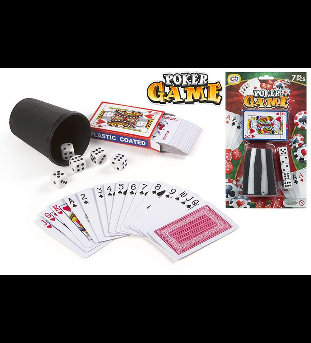 Poker Game - Cartas e Dados