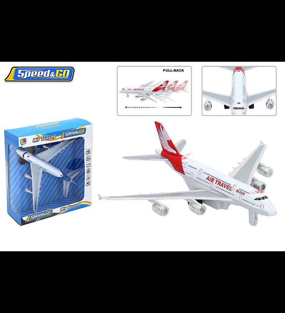Speed & Go - Avião Metal