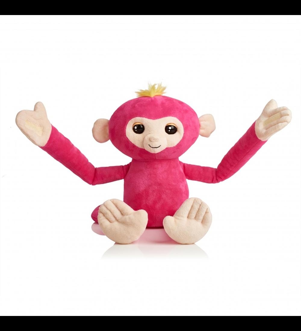 Fingerlings Hugs - Peluche Interativo Rosa