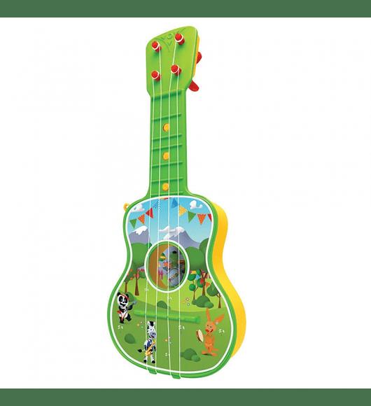 Guitarra do Panda - Verde