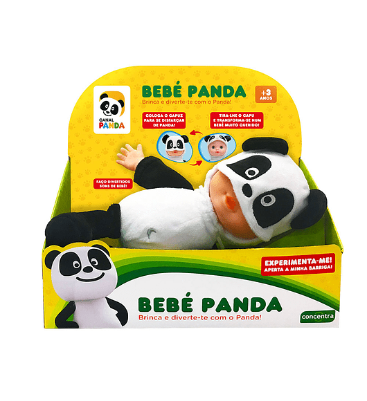 Panda - Boneca com Disfarce