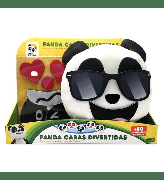 Panda - Peluche Caras Divertidas